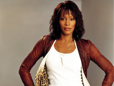 American Pop singer Whitney Houston Wallpaper