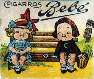 Propaganda dos Cigarros Bebê