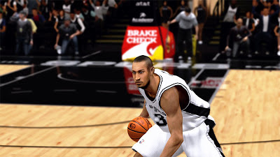 NBA 2K13 Boris Diaw Cyberface 2K Patch