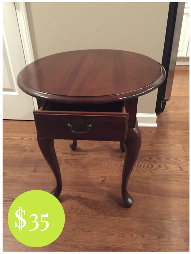 Weekend Find Traditional End Table