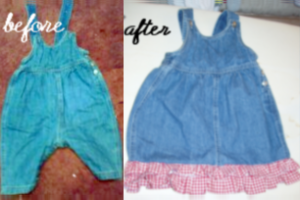 Upcycled Baby Clothes