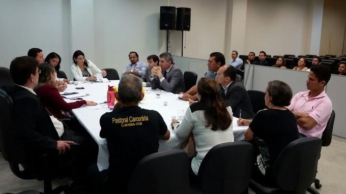 Prefeitura de Caxias participa de debates da Semana do Encarcerado
