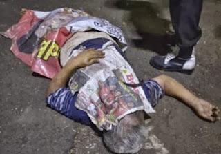 Korban tewas dalam insiden pembagian qurban di Istiqlal (foto Antara)