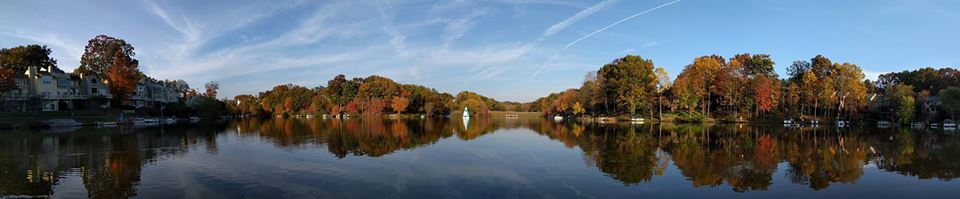Autumn on Lake Audobon