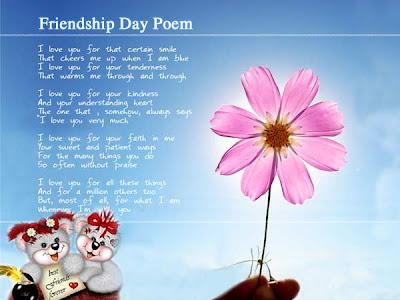 contoh puisi sahabat atau puisi persahabatan bahasa inggris yang baru