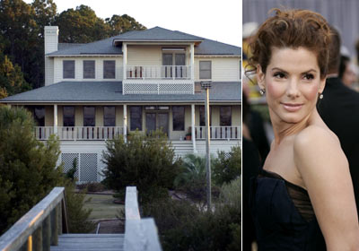 Celebrity House Pictures on Homes Of Hollywood Celebrities  Sandra Bullock Hollywood Celebrity