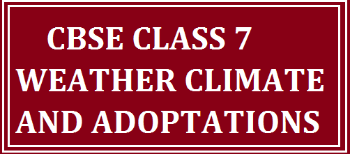 climate class 9 notes pdf