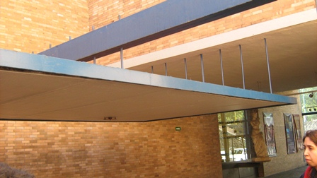 Archtransici n detalle estructural del teatro arq for Facultad de arquitectura una