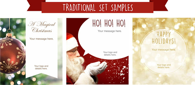 Click to view all our Traditional Holiday emailer designs