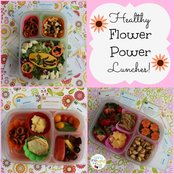 Flowery Family Lunches - for Mama, Preschooler, and Toddler