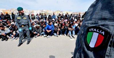 Lampedusa refugees #14