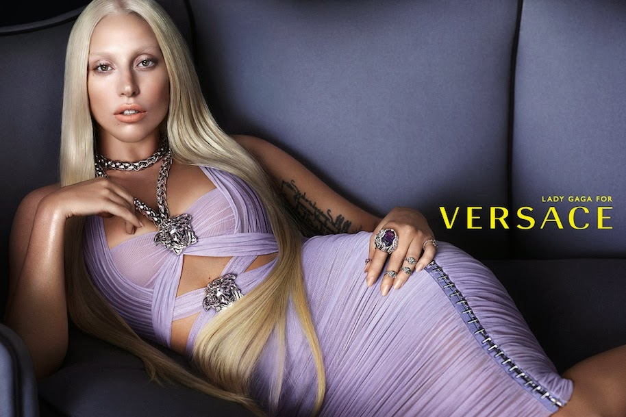 Lady Gaga @ Versace Primavera/Verão 2014