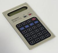 számológép érintő billentyűzettel