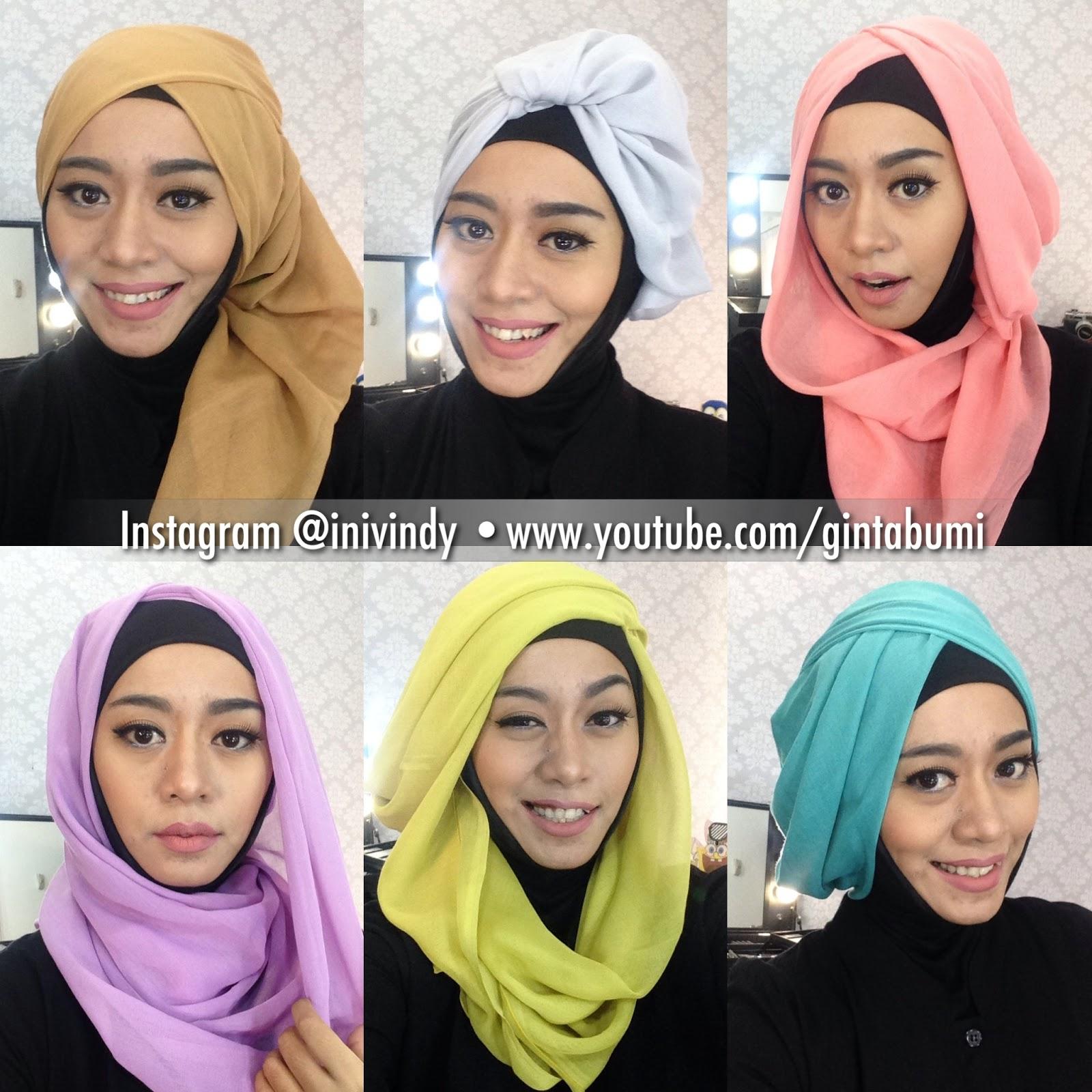 Ini Vindy Yang Ajaib Merasa Gaya Hijab Segi Empat Itu Itu Aja