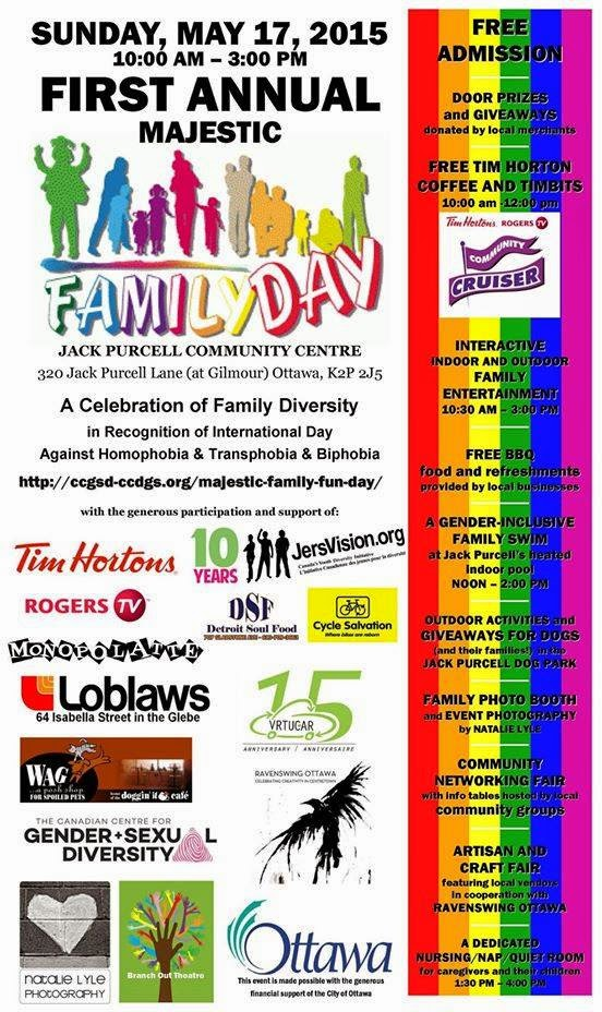 Majestic Family Fun Day Schedule of Events