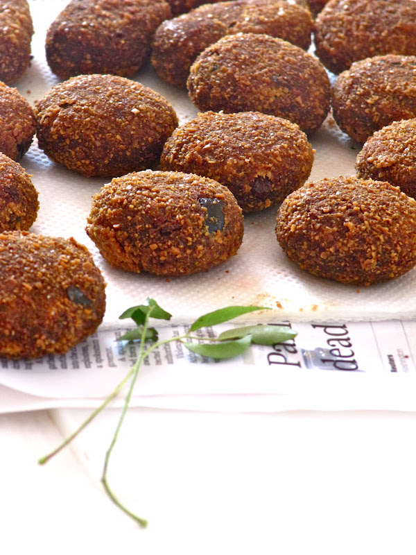 beef croquettes — kerala style beef cutlets