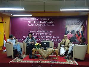 Launching buku mbak  Anie Sutjipto