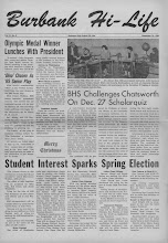 BHS Newspaper 1964-1967