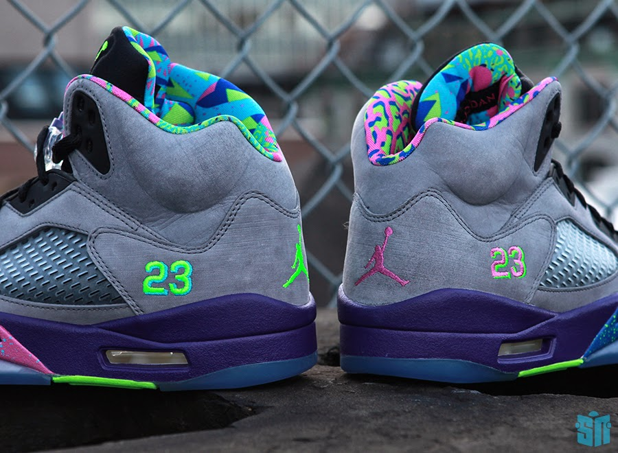 """dd8398286d28 Air Jordan V """"Bel-Air"""" Color  Cool Grey Court Purple-Game Royal-Club Pink  Style Code  621958-090. Release Date  10 05 13. Price   185"""