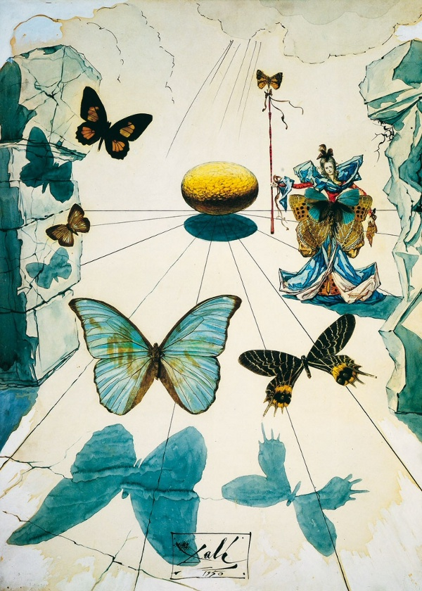 Salvador Dalí: Allegorie de soie
