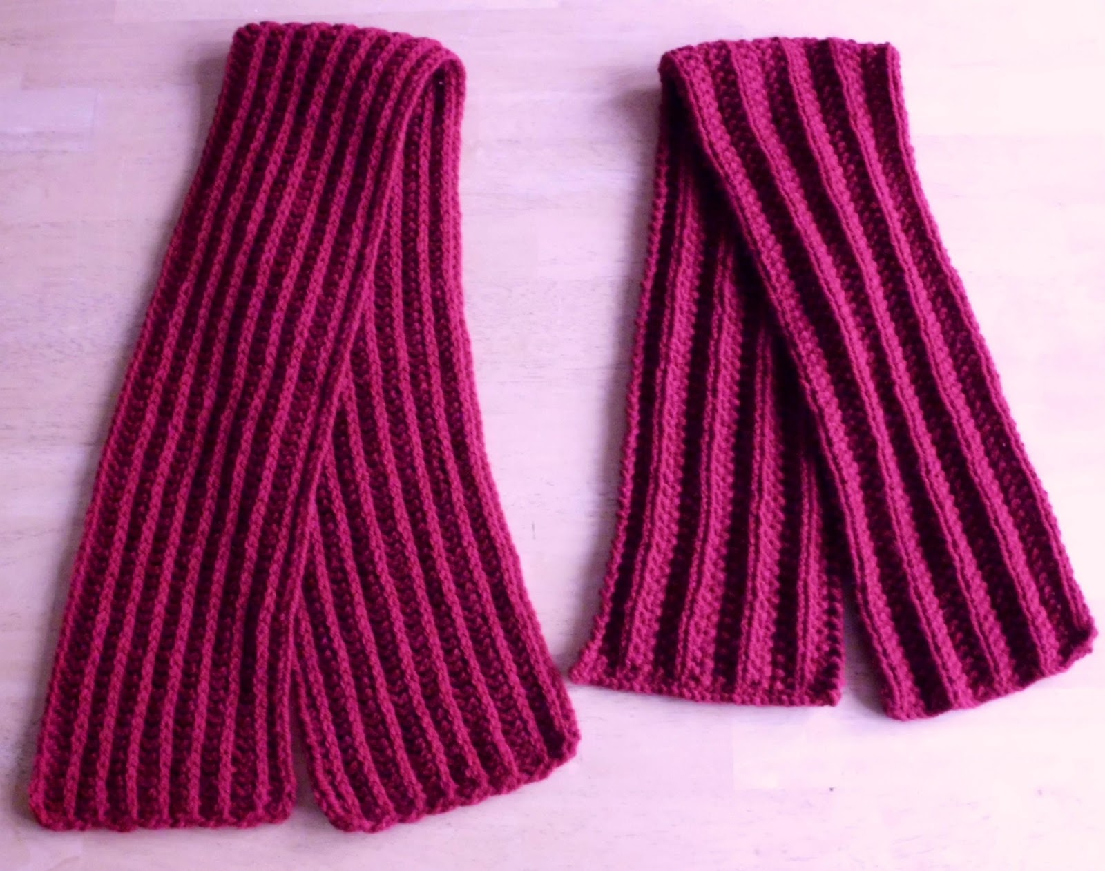 Great Balls of Wool: The scarf race: and the winner is.....