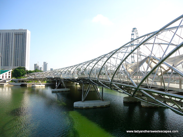 The Helix Bridge Singapore