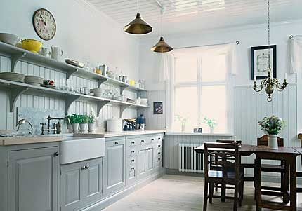 Modern Kitchen on Modern Country Style  How To Conquer Kitchen Shelving  Part 2 And Link