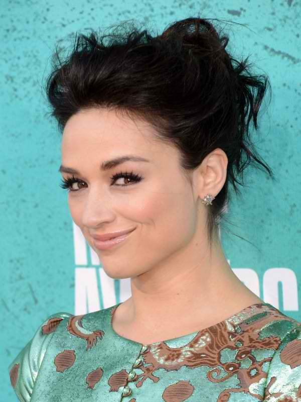 Pictures Of Celebrity Messy Updo Hairstyles Rock Cafe