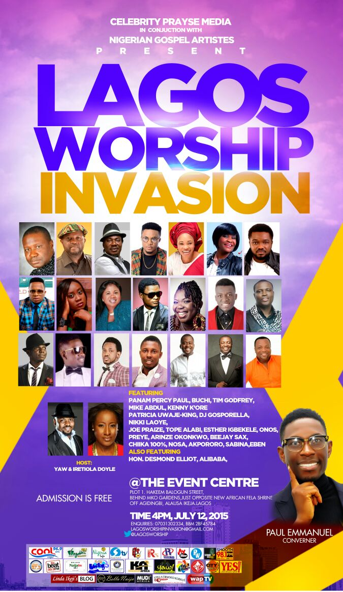 lagos worship invasion