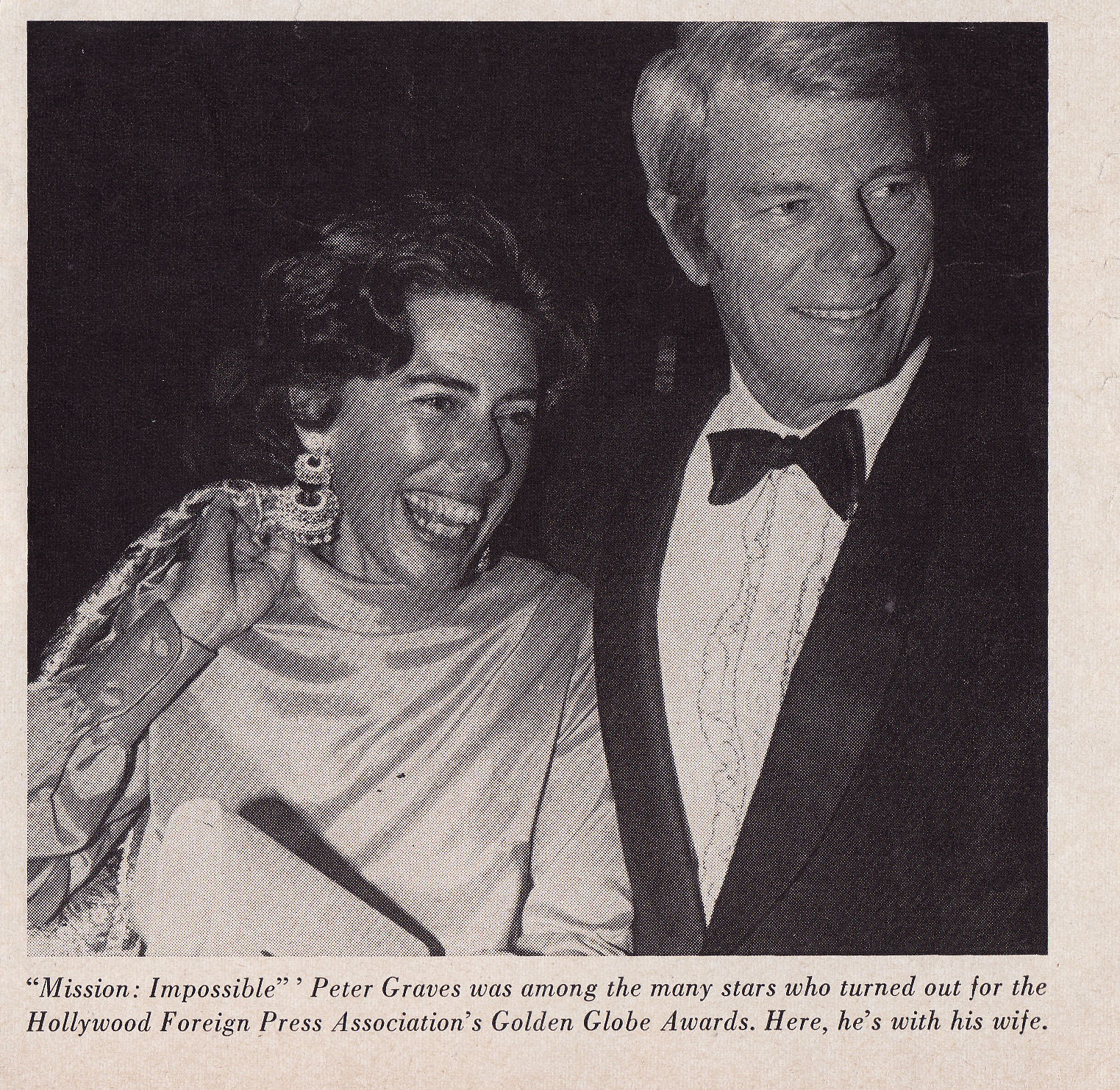 peter graves wife