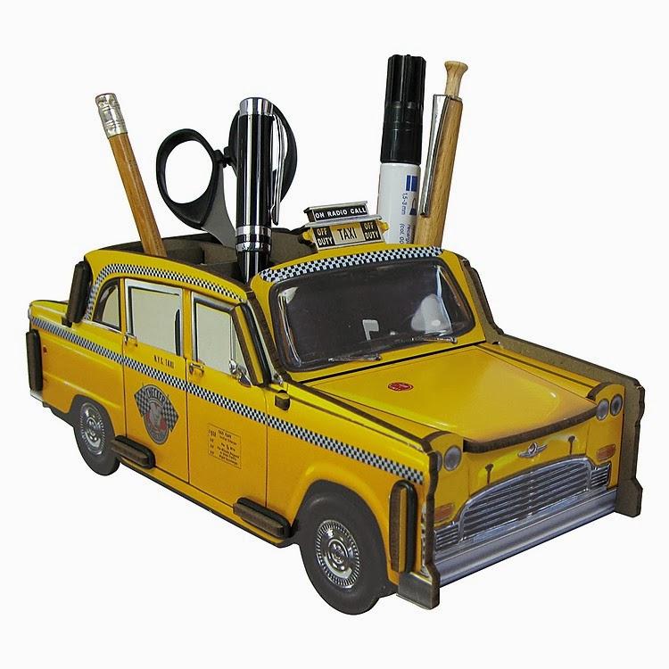 Portalápices Taxi NY
