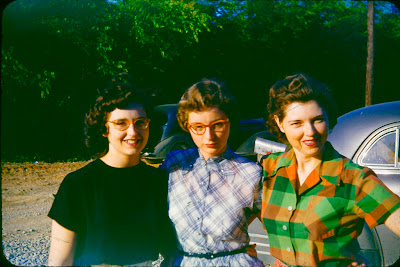 vintage glasses, forties, cateyes, women