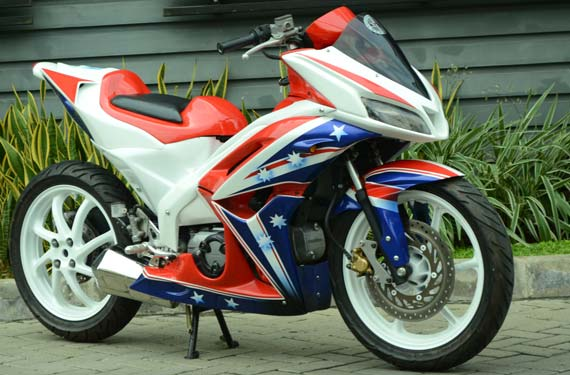 Gambar Modifikasi Motor Honda Blade