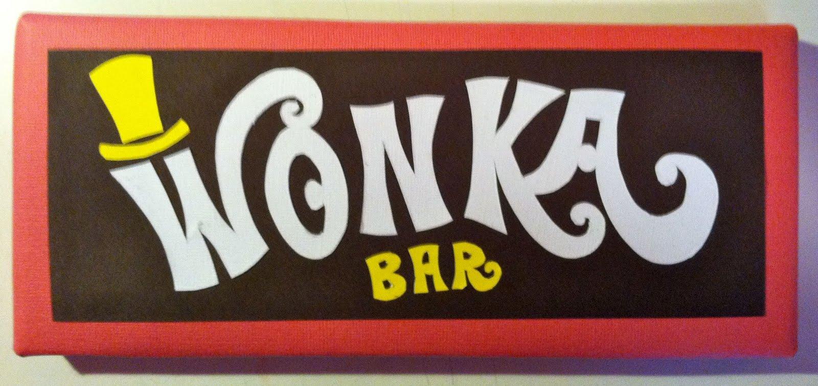 Wonka Bar Golden Ticket