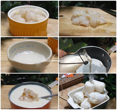 Cách làm sữa chua vải