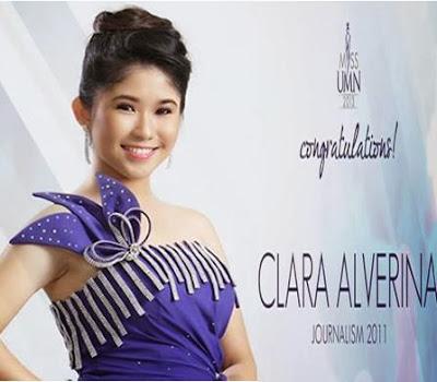Clara Alverina Dinobatkan sebagai Miss UMN 2013