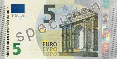 новая купюра 5 евро