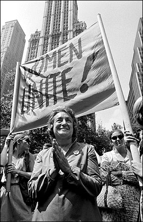 the womens movement had being