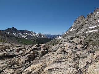 Ein letzter Blick auf die High Sierra in Yosemite