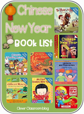 Chinese new year book list and coloring pages