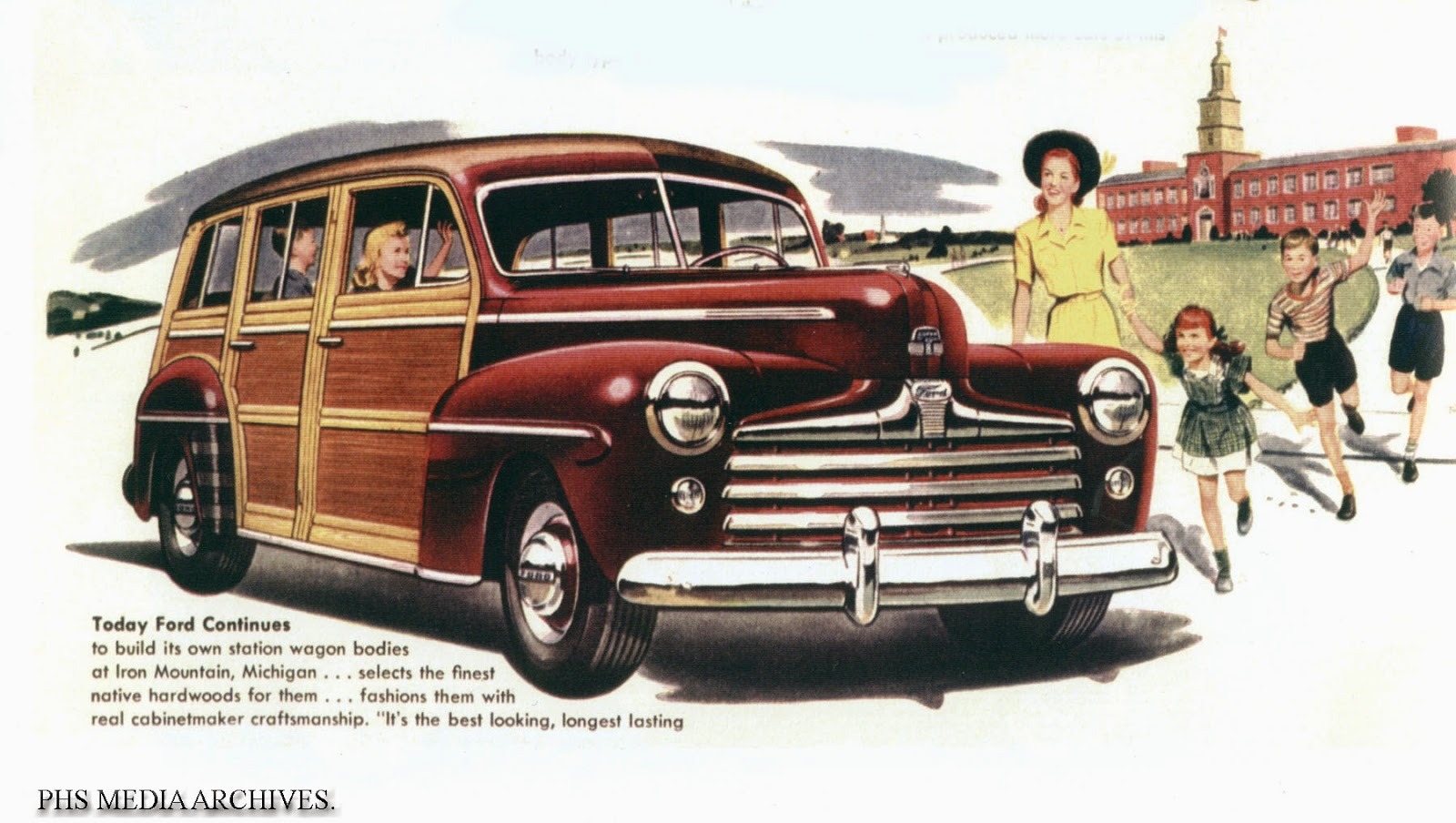 1946 Ford Woody Station Wagons Phscollectorcarworld 1960 Pontiac Catalina Wiring Diagrams By The Woodie Wagon Was A Solid Status Symbol Of Wealth And Genteel Living