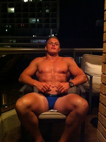 And Hung Australian Rugby Player Gee Burgess Nude Selfies Go Viral