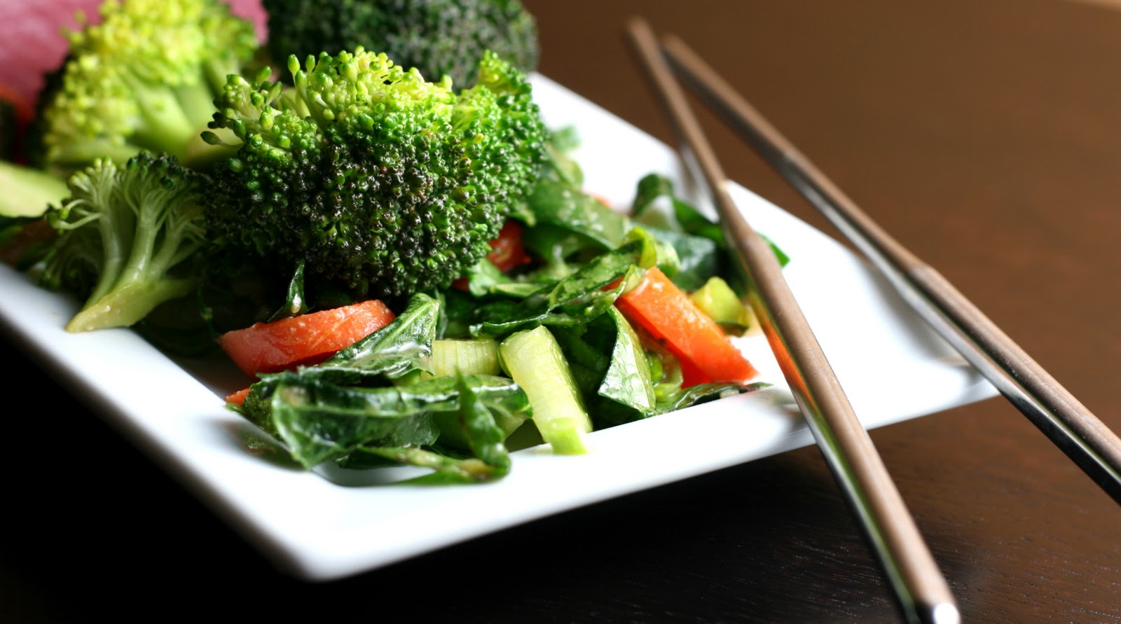 Asian Broccoli Salad with Miso Mayo