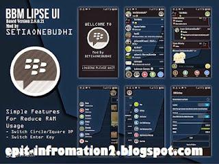 BBM Lipse UI Fast and Simple 2.8.0