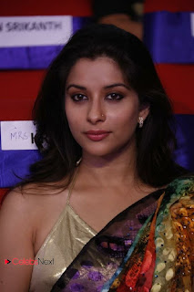 Actress Madhurima Latest Pictures in Saree at TV9 TSR Awards  0011.jpg