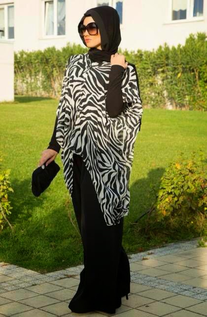 Tenue chic hijab