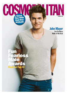 John Mayer on Cosmopolitan Magz