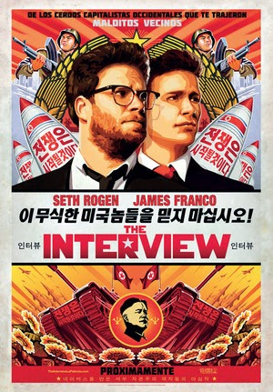 Poster The Interview 2014