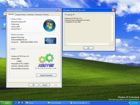 Keygen для Windows XP Service Pack 3