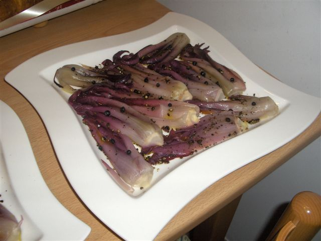 radicchio marinato